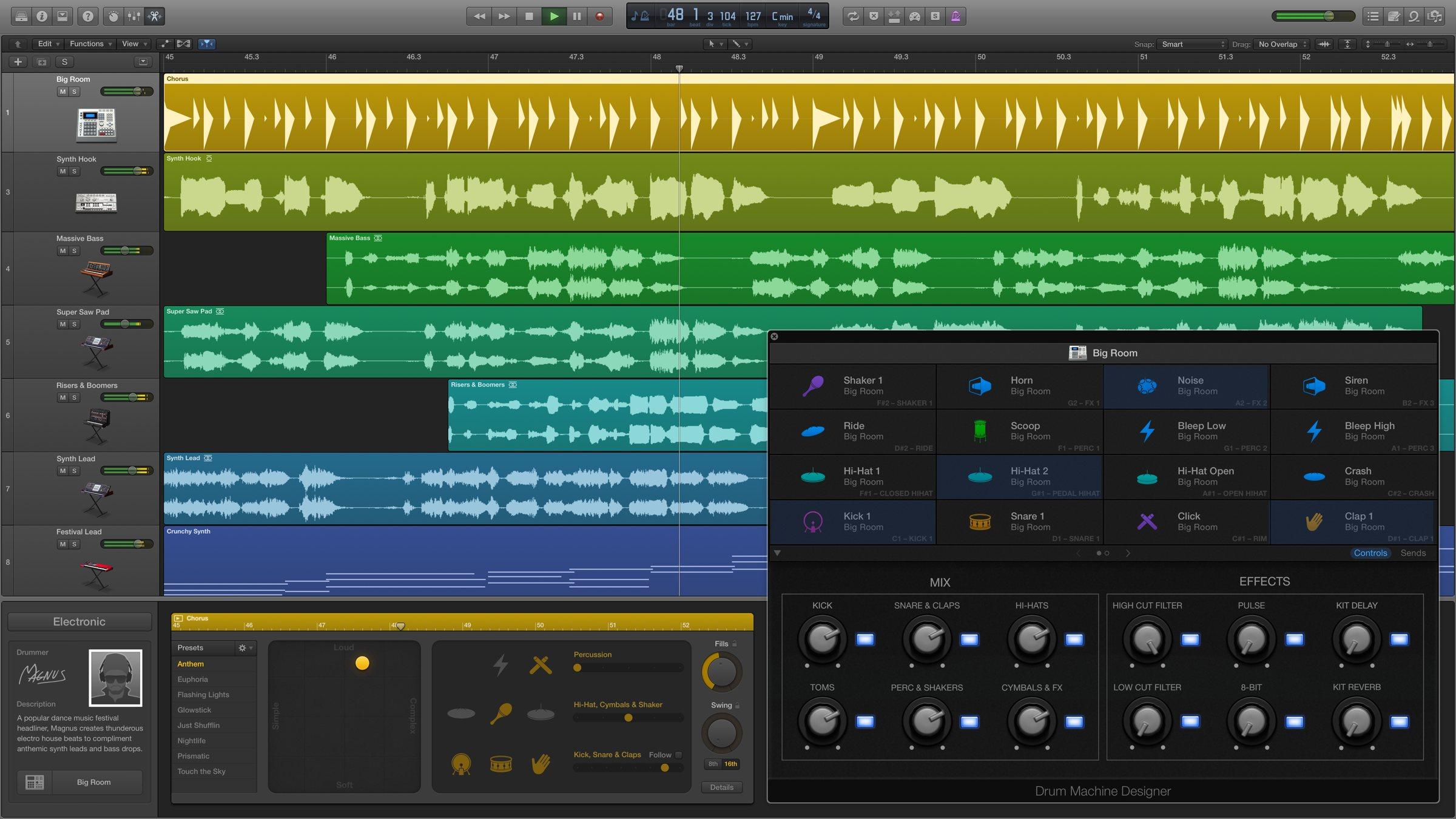 宿主软件 | LOGIC PRO X | MAC