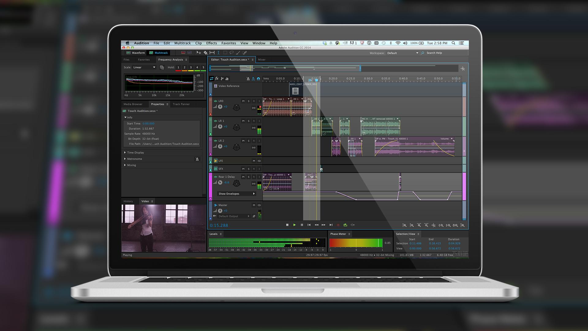 Adobe Audition CC 2018 音频后期混音系列教程