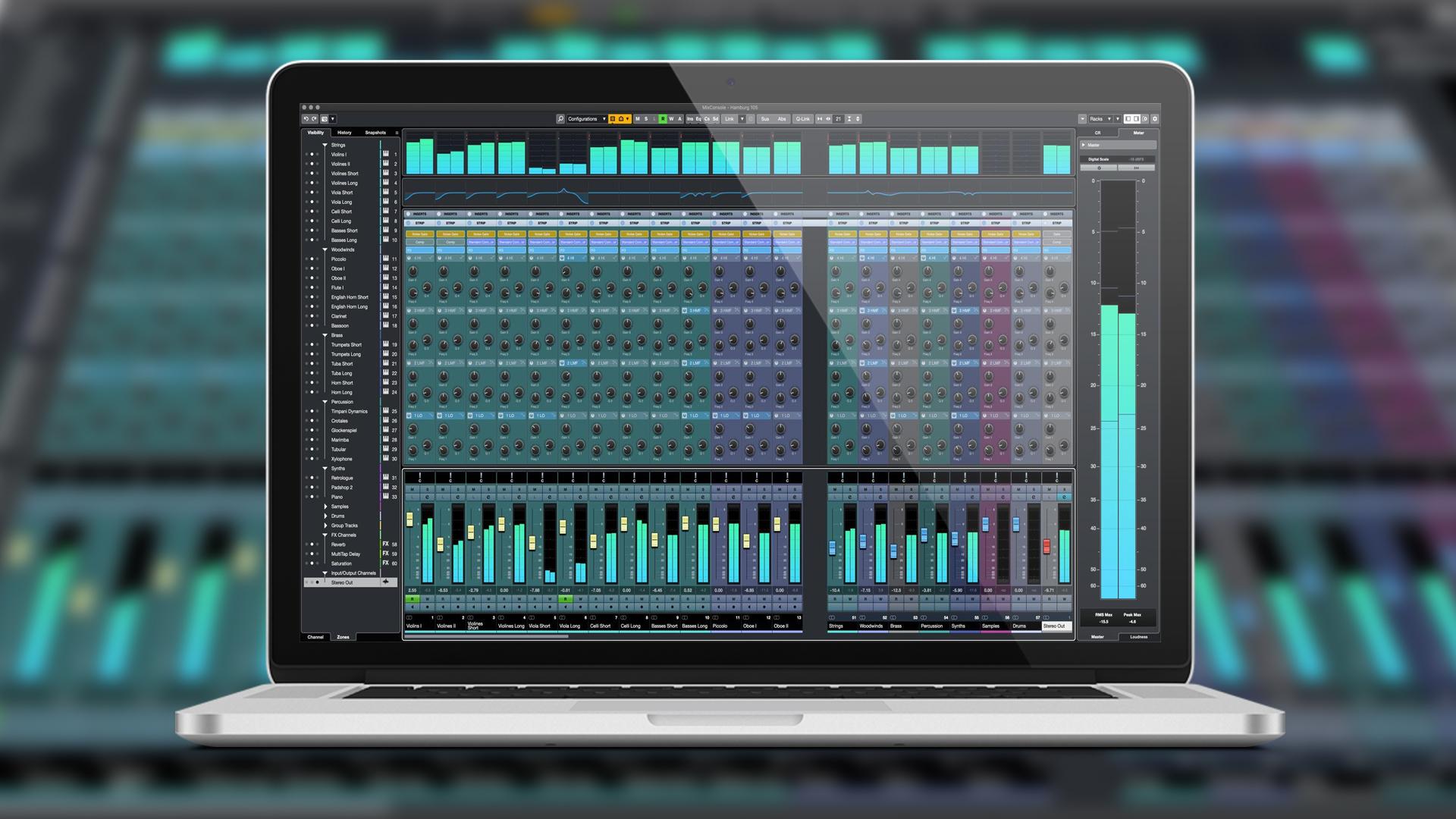 Cubase 8.5 音频后期混音系列教程