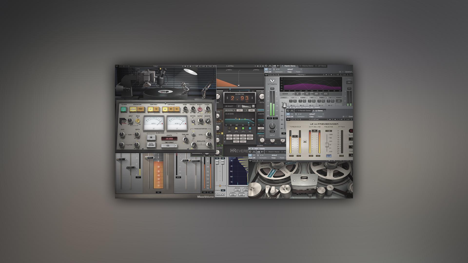 综合插件 | WAVES 10 | PC&MAC