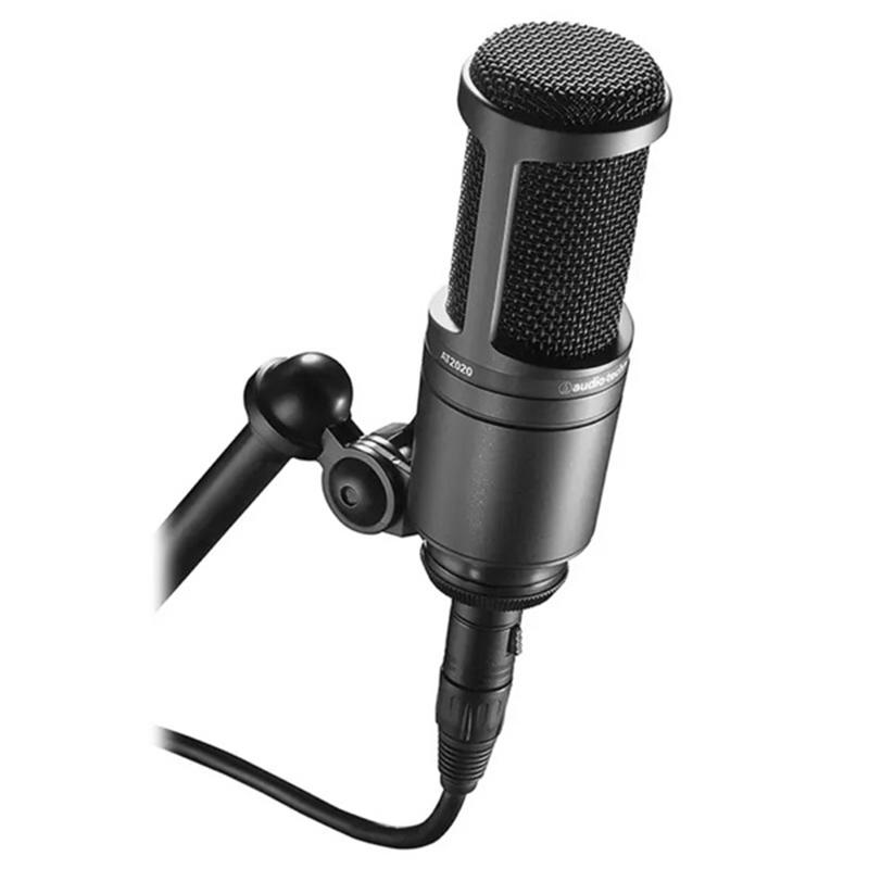 铁三角 AT2020 | 电容麦克风 | 专业录音